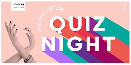 Lean In NZ The Big Virtual Feminist Quiz tickets