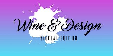 Virtual Wine & Design tickets