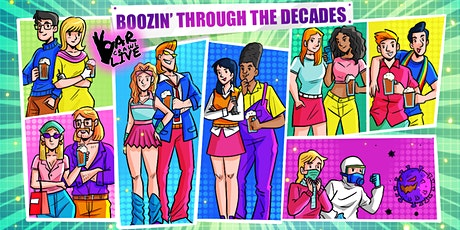 Boozin' Through The Decades Bar Crawl | Raleigh, NC - Bar Crawl Live tickets