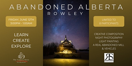 Rowley Photography Workshop tickets
