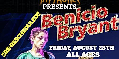 Benicio Bryant tickets