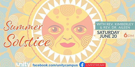 Summer Solstice Celebration, St. Petersburg FL First Unity Spiritual Campus tickets