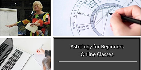 """Astrology for Beginners - Online Class """"The 12 Signs & 12 Houses"""" tickets"""