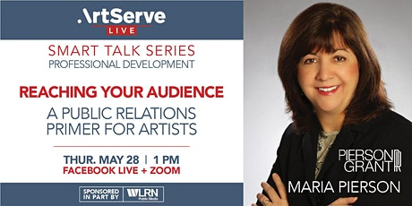 Smart Talk Series: Public Relations for Artists tickets