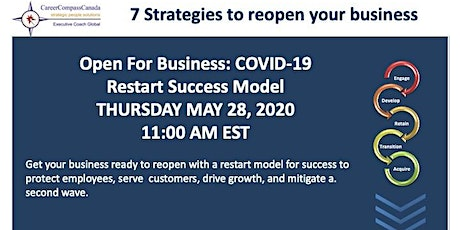 Webinar 7 Strategies to reopen your business  tickets