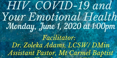 HIV, COVID19 And Your Emotional Health tickets