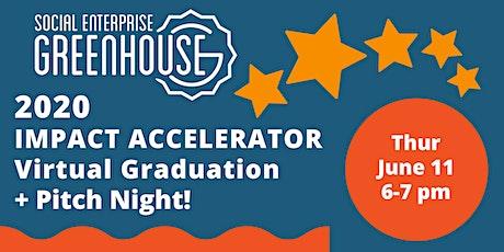 2020 SEG Impact Accelerator Virtual Graduation + Pitch Night tickets