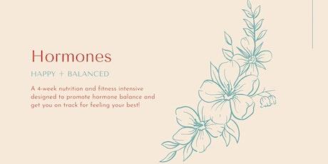 Happy, Balanced Hormones Intensive June 2020 tickets