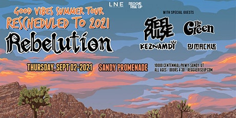 Good Vibes Summer Tour 2021: Rebelution + Special Guests tickets