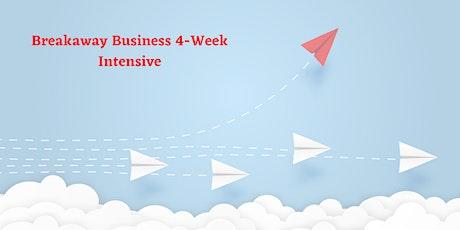 Breakaway Business 4-Week Intensive Online Course tickets
