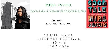 South Asian Literary Festival: Mira Jacob tickets