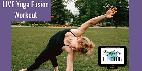 LIVE Yoga Fusion: Yoga exercises Fusion Fitness at Home Workout tickets