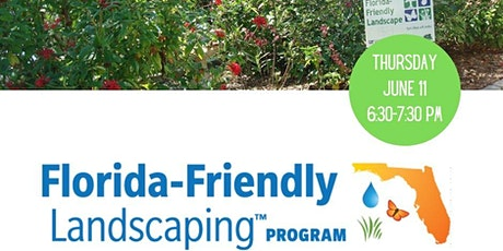Introduction to Florida-Friendly Landscaping tickets