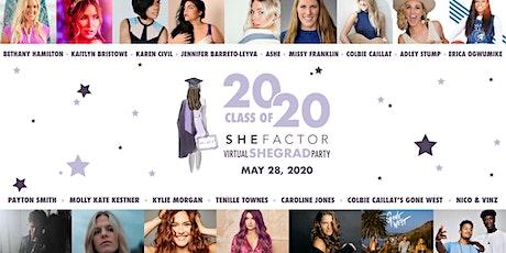 2020 Virtual SheGrad Party tickets
