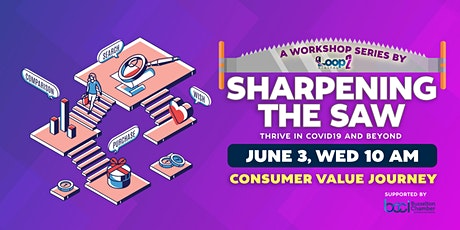 Sharpening The Saw - Consumer Value Journey tickets