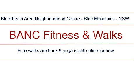 BANC Fitness & Walks - walking group tickets