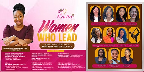 Women Who Lead Empowerment Summit tickets