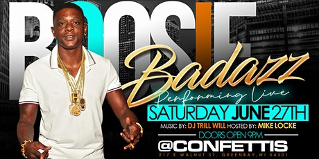 "BOOSIE BADAZZ ""THE G.O.A.T TOUR"" tickets"