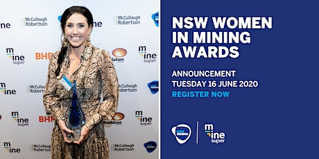 NSW Women in Mining Awards Announcement tickets
