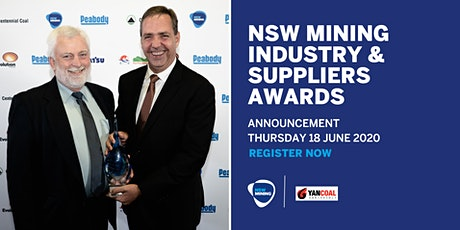 NSW Mining Industry & Suppliers Awards Announcement tickets