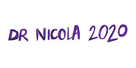 Dr Nicola 2020  #2 Feminism & Comics UK: The 1970s.  Illustrated live  talk tickets
