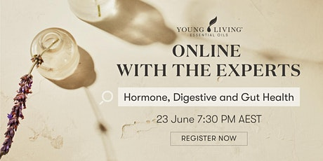 Online with the Experts: Hormone, Digestive and Gut Health tickets