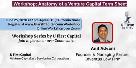 Workshop: Anatomy of a Venture Capital Term Sheet tickets