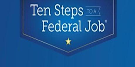 Webinar - Ten Steps to a Federal Job tickets