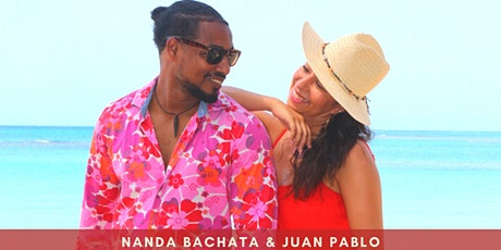 Free Bachata Online Beginners* with Nanda & Juan Pablo billets