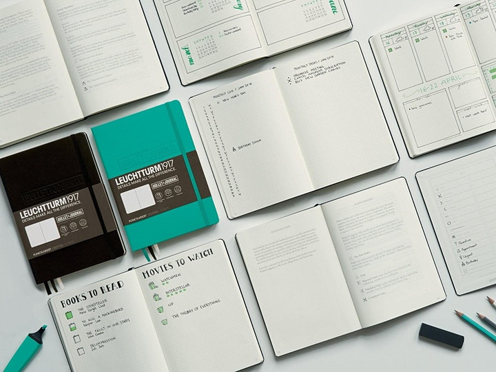 Online Meet Up: Bullet Journal Learn & Share with @StephTCreates image