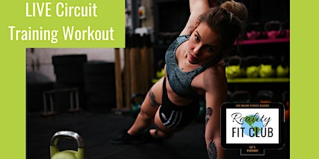 LIVE Total Body Circuit: Strength Circuits at Home Workout tickets