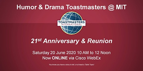 21st Anniversary and Reunion tickets
