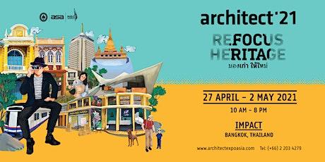 Architect'21 Expo tickets