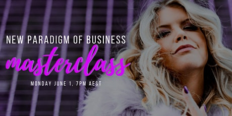 NEW PARADIGM OF BUSINESS - MASTERCLASS tickets