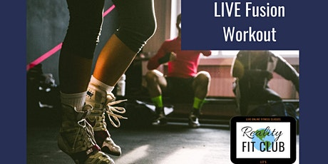 LIVE Fit Mix XPress: 30 min Fusion Fitness at Home Workout tickets