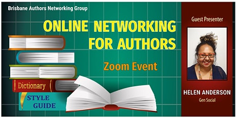 Online Networking for Authors – Zoom Event tickets