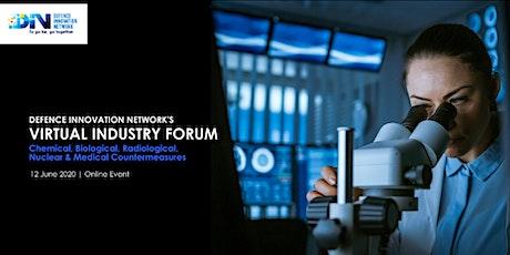 DIN Virtual Industry Forum: CBRN & Medical Countermeasures tickets