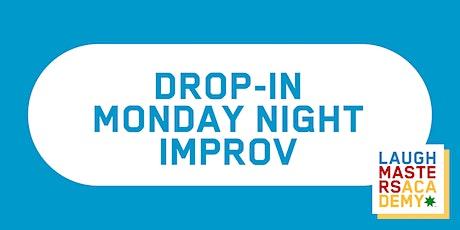 Drop-in Class: Improv Training Online tickets