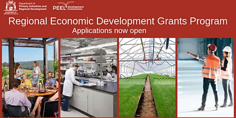 Regional Economic Development (RED) Grants Program - one-on-one discussions tickets