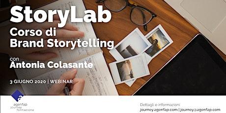 StoryLab - Corso di Brand Storytelling biglietti