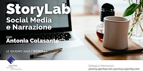 StoryLab - Social Media e Narrazione biglietti