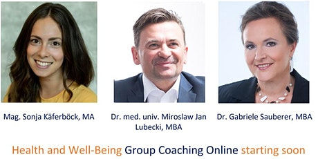 Health and Well-Being Group Coaching Online tickets
