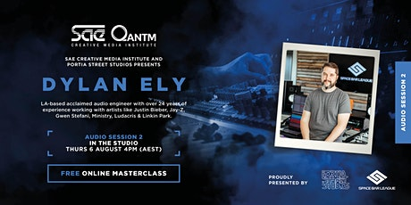 Dylan Ely Masterclass Series | Session 2: In the Studio tickets
