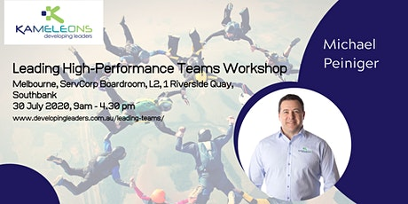 Leading High-Performance Teams - 30 July 2020 tickets