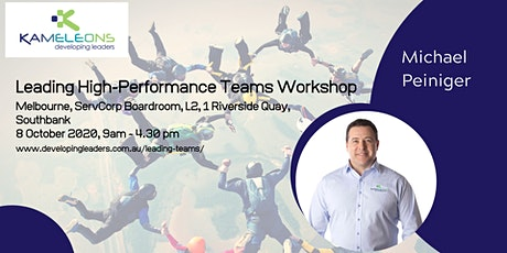 Leading High-Performance Teams - 8 October 2020 tickets