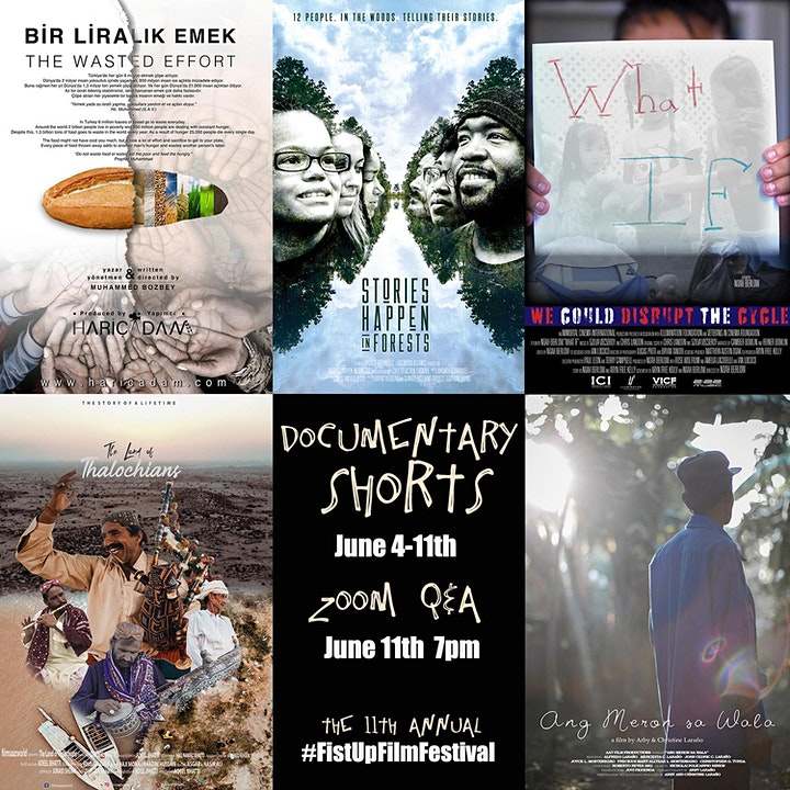 11th Annual #FistUpFilmFestival Documentary Shorts image