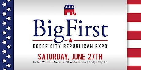 Big First Dodge City Republican Expo tickets