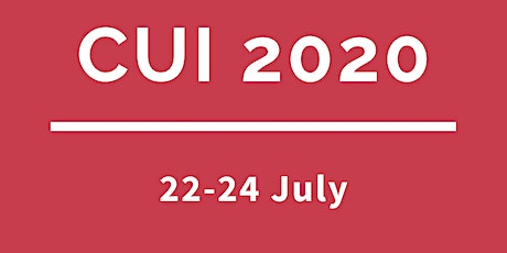 CUI 2020 (Virtual)- 2nd International Conference on Conversational User Interfaces tickets