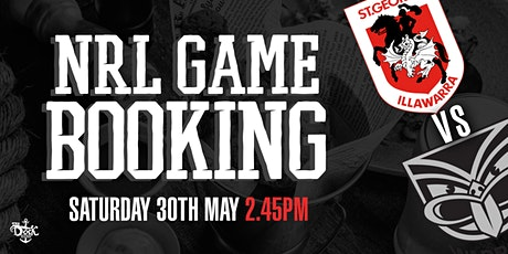 Sat 30th May 2.45pm Warriors v Dragons Game tickets
