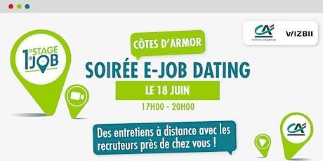 E-Job Dating Côtes-d'Armor : décrochez un emploi dans votre région ! billets